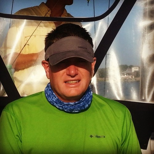 #Patagonia visor,a #buff & an #omnifreeze shirt from #jessebrowns Let's fish!