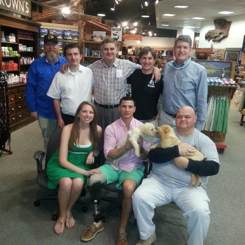 Warriors, Woods, Puppies & Jessebrowns