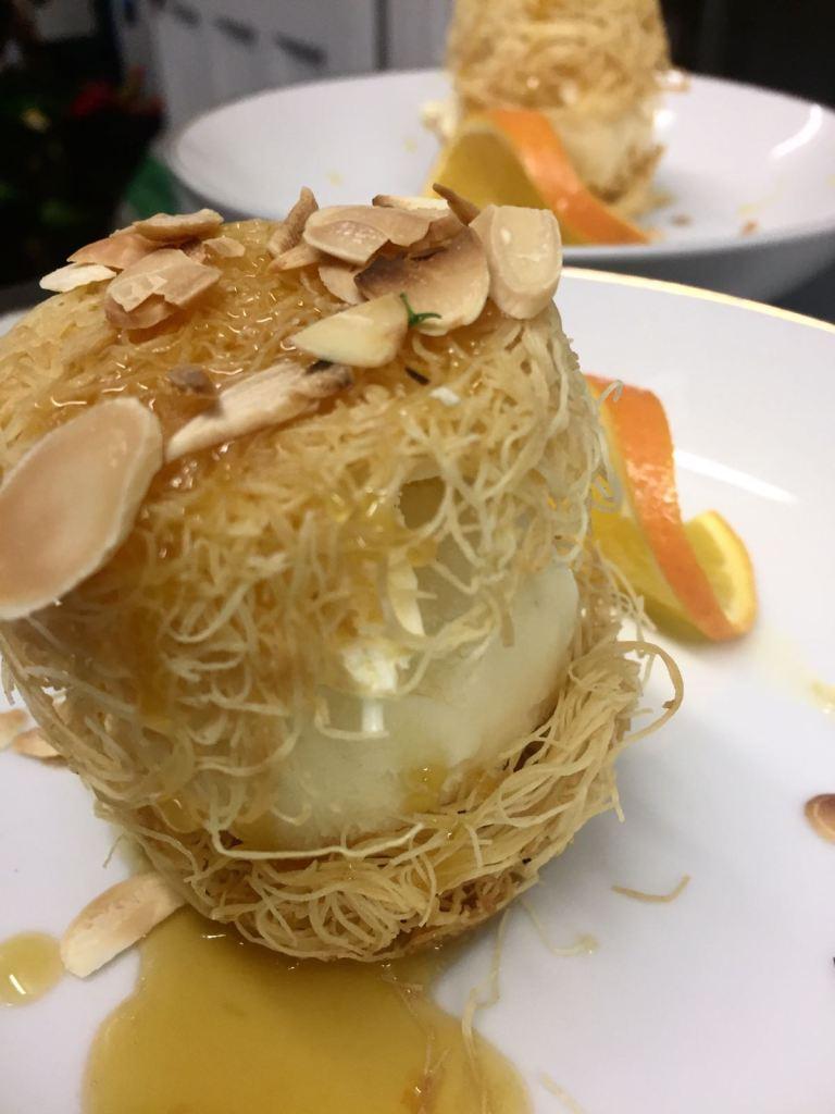 Supper club dessert