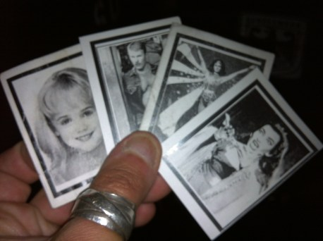 Our drink tickets at Eastern Bloc