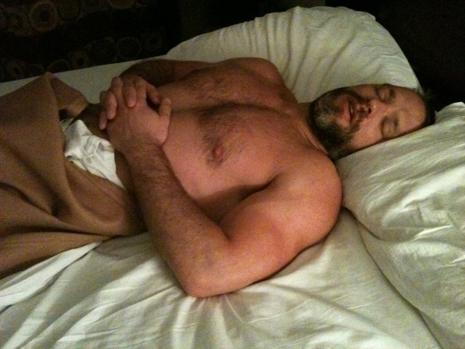Last night in NYC. Poor Dirk was exhausted!