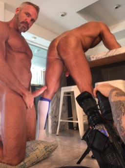 My scene with Dallas Steele