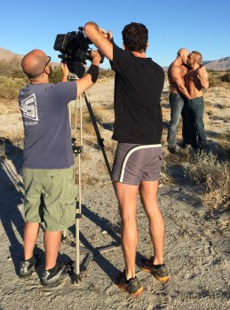 Early morning desert shoot
