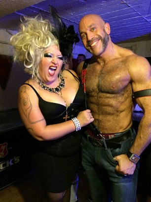 Mr. Pam and me at HustlaBall Berlin 2015