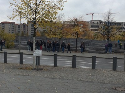 View of the Holocaust Memorial