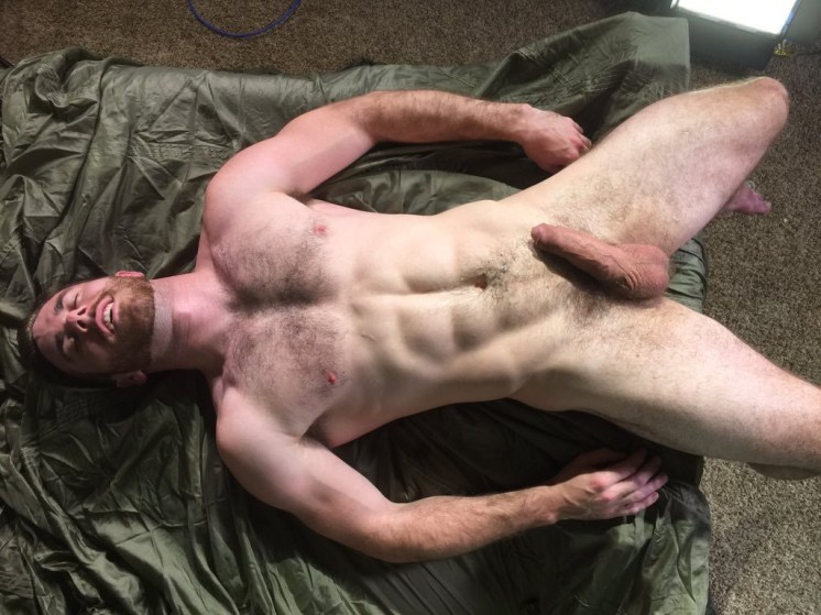 Matthew Bosch, spent after his scene with Eric Nero