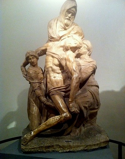 Alone with Michelangelo