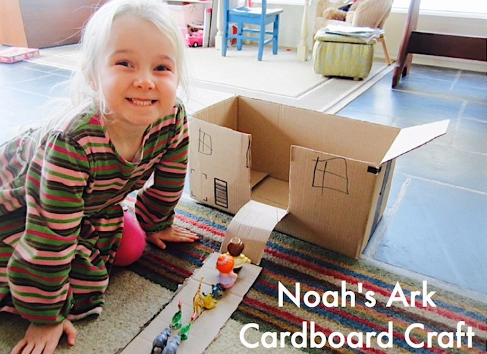 Cardboard Craft: Noah's Ark