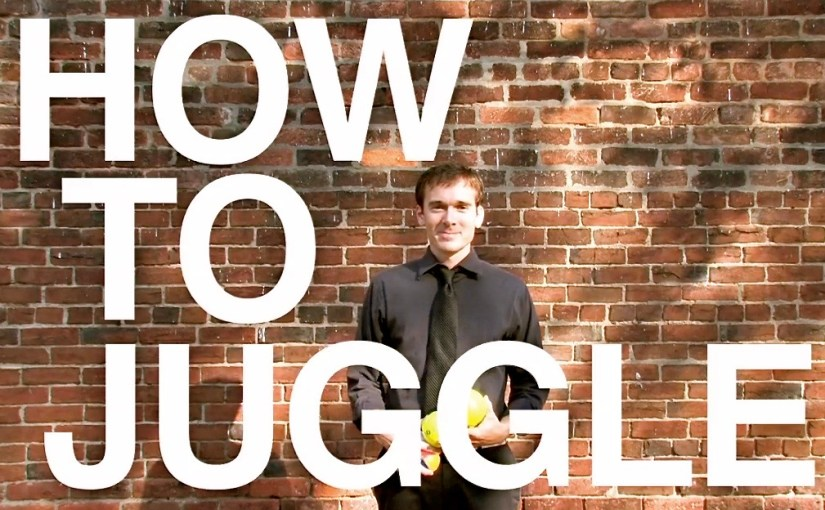 Free Juggling Class – Live and Online!
