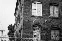 Abandoned Industrial Building in Monroe, NC