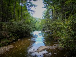 High Shoals Falls Loop Trail - South Mountains State Park, NC