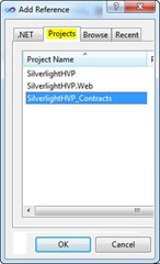 Adding Project Reference
