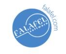 Falafel Logo Small White