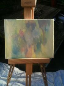 My first oil abstract! :)