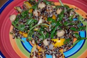 Kumquat Quinoa Salad
