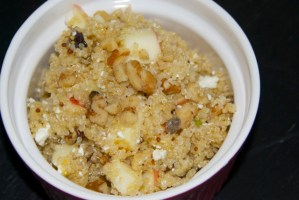 Quinoa, Feta and Walnut Salad
