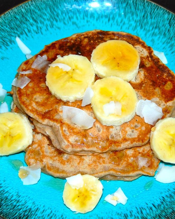 Coconut Banana Pancakes