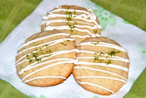 Ginger-Lime Sugar Cookies