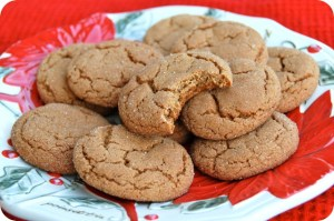 12 Days of Christmas Cookies: Ginger Molasses Cookies