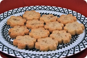 12 Days of Christmas Cookies: Smoked Sea Salt and Almond Shortbread