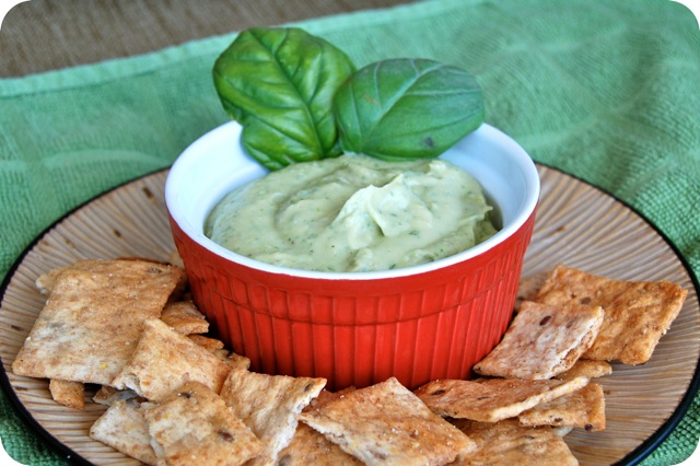 White Bean & Basil Hummus