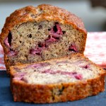 This sweet and hearty Strawberry Banana Bread is packed full of fresh fruit. It's perfect to make in the summer when berries are in season and at their sweetest!