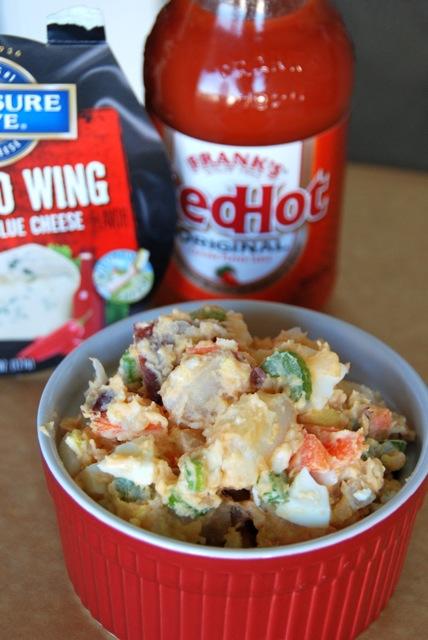 Buffalo & Blue Potato Salad