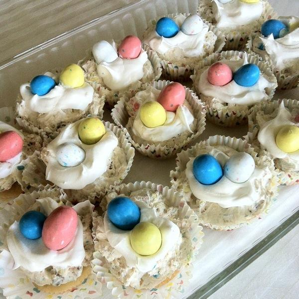 Robin Egg Mini Cheesecakes