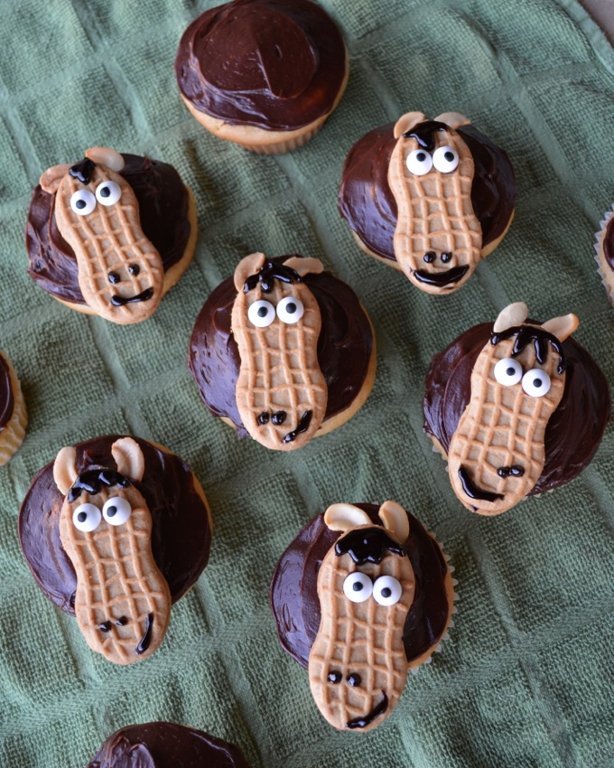 Horse Cupcakes Flying On Jess Fuel