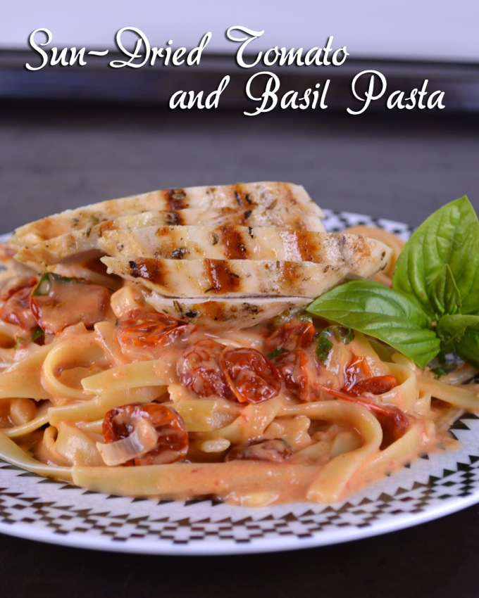 Sun-Dried Tomato and Basil Pasta
