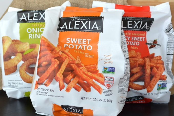 Alexia Fries and Onion Rings #SpringIntoFlavor
