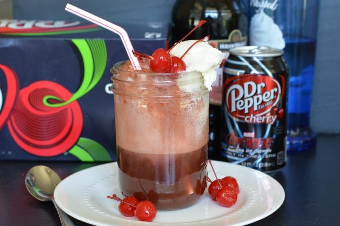 Grown Up Cherry Vanilla Floats