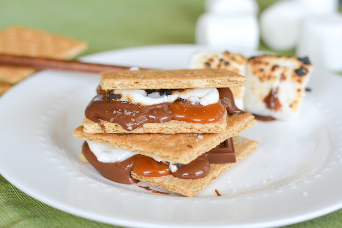 Salted Caramel S'mores