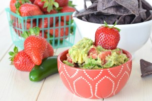 Strawberry Jalapeno Guacamole