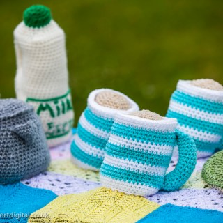 Yarn Bombing – The Knitted Village