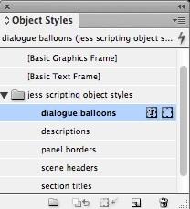 visual scripting 11 object styles menu