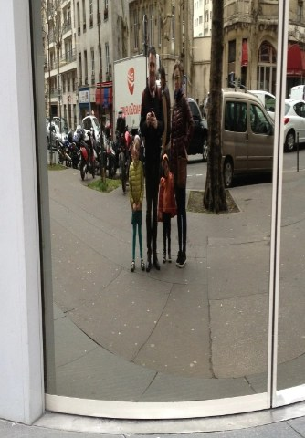 Paris in a funhouse mirror - pros and cons of life in France