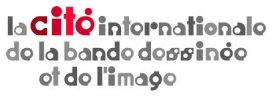 the logo of La cité international de la bande dessinée et de l'image