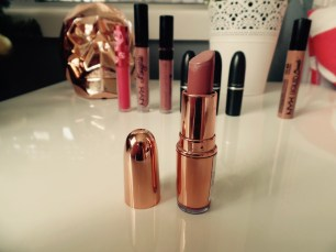 Makeup Revolution Rose Gold Lipstick in 'Chauffeur'