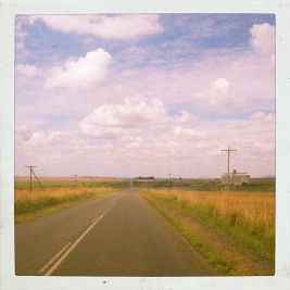 The open road from Joburg to Maseru looked a lot like Nebraska.