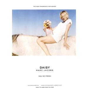 Teller for Marc Jacob's Daisy Eau So Fresh perfume (2011)