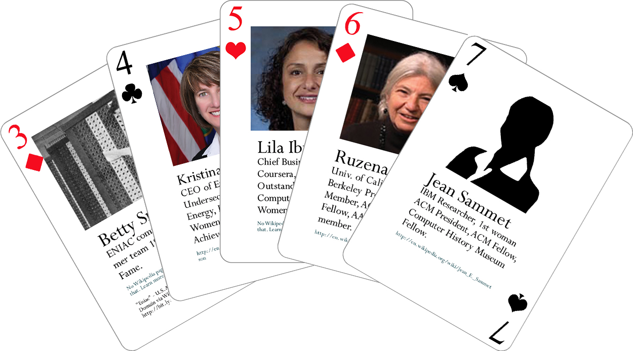 Notable Women in Computing Deck