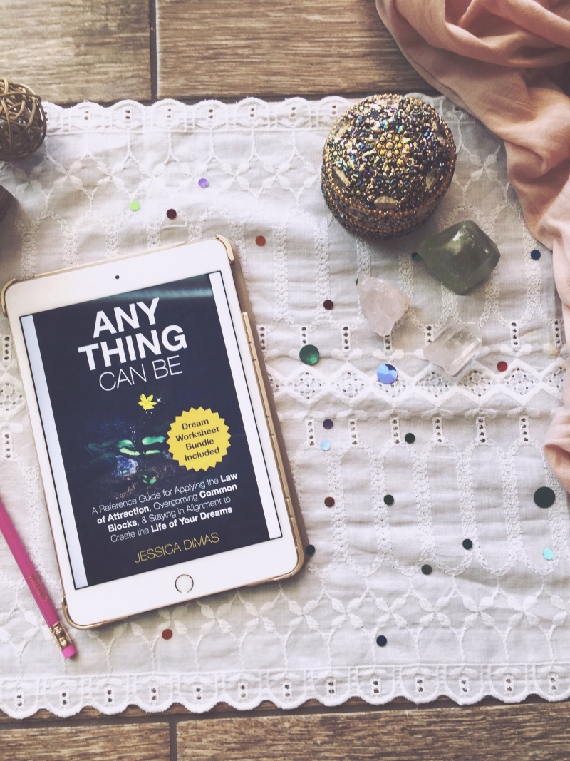 Anything Can Be is a powerful guide on manifesting that includes nine law of attraction worksheets #manifesting #lawofattractionworksheets #manifestingworksheets #anythingcanbe #lawofattractiontips #manifestingtips #morningworksheet