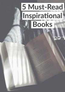 5 Must Read Inspirational Books