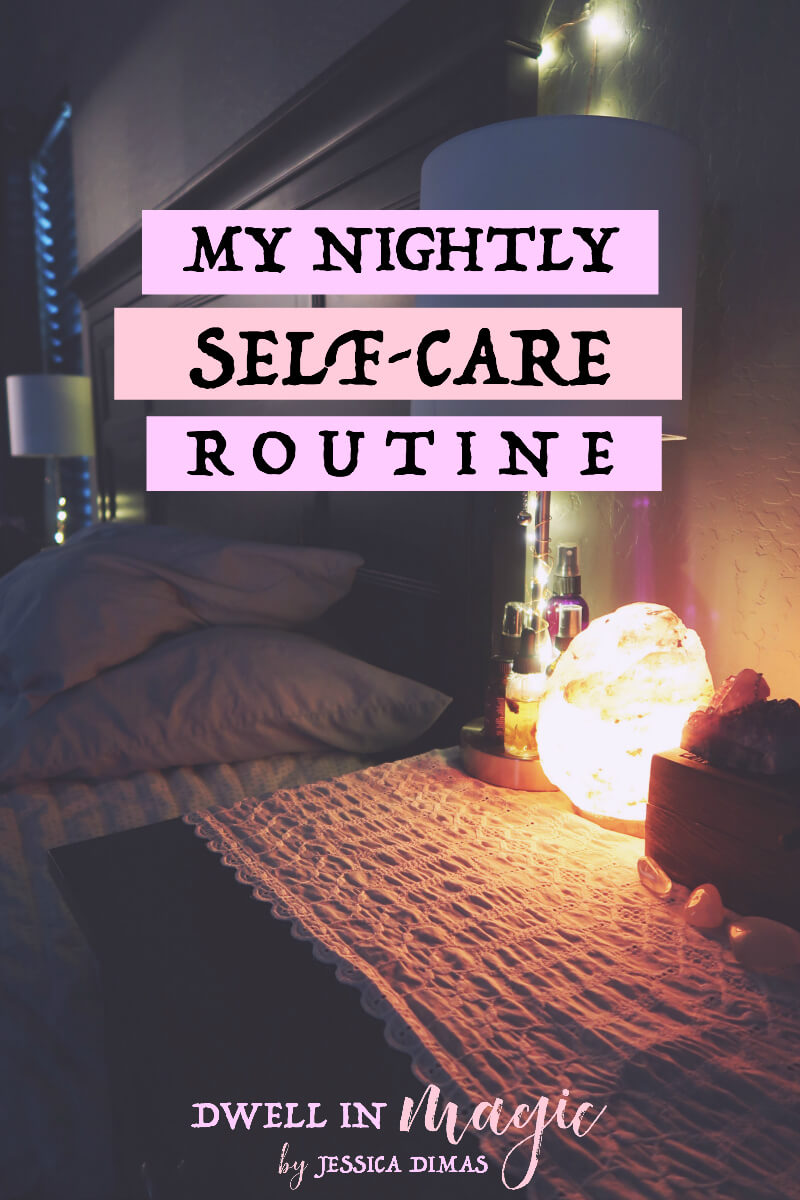 My nightly self-care routine and self-care ideas. I do this with two young kids so I can assure you that it's possible to fit it into a busy schedule. #selfcareroutine #selfcareideas #selfcaretips #selfcareroutinedaily #nightlyroutine #nightlyselfcare #nightlyselfcareroutine #dailyroutine #selfcareworksheets #selfcareworkbook