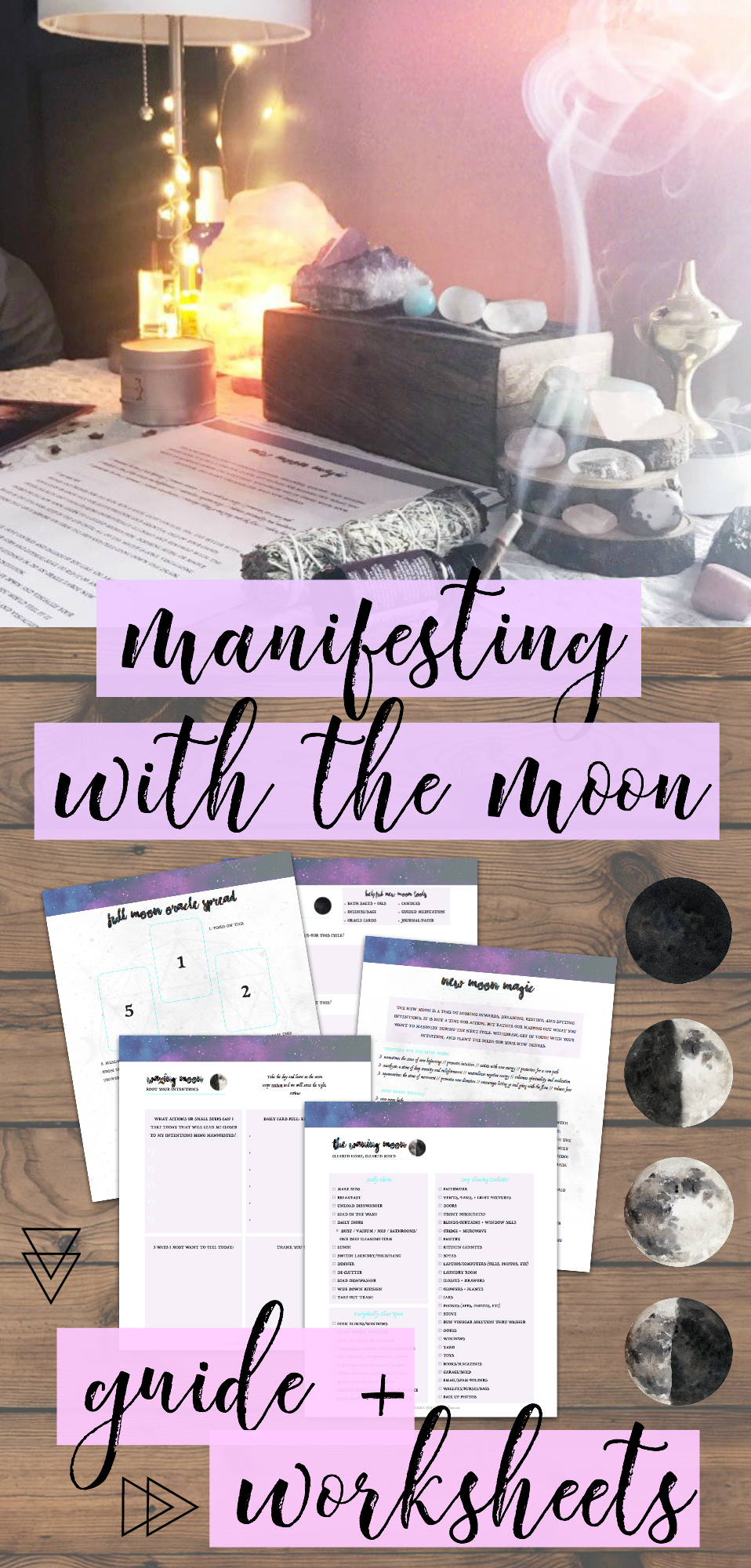 Manifesting Magic with the Moon