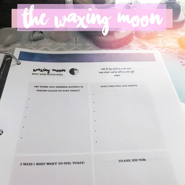 Manifesting Magic with the Moon - Moon Ritual Worksheets