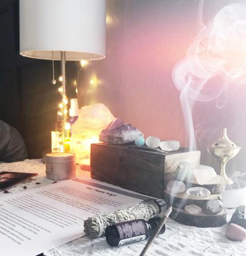Jessica Dimas - Manifesting | Moon Magic | Sacred Self-Care | Empaths