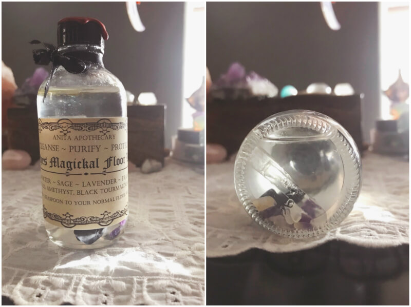 Witch's Magickal Floor Wash
