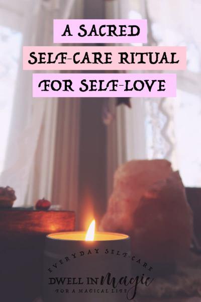 self-care ritual self-love